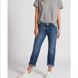 Current/Elliott  The Boyfriend Easy Love Jean
